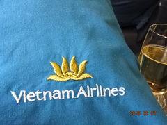 2015年2月7日 関空からシェムリアップへ 1 関空からホーチミンまで5時間余の空の旅