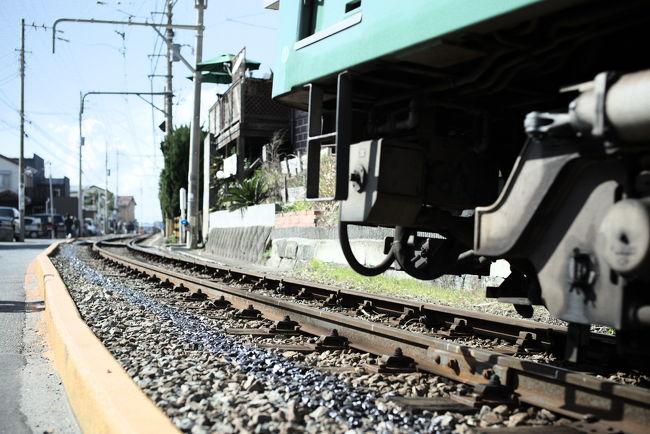 江ノ電の一日フリー乗車券「のりおりくん」を使って、沿線一人散歩をしてきました。<br /><br />メジャー観光スポットめぐりじゃないです。<br /><br /><br />江ノ電<br />http://www.enoden.co.jp/train/index.htm