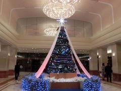 1か月早いけど京王プラザホテルのクリスマスツリー(2014年11月)