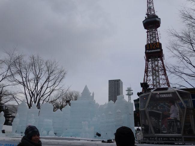 冬の北海道といえば!念願の雪まつりと雪あかり