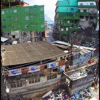 3.世界最大のファベーラ(貧民窟):ホッシーニャ(リオデジャネイロ/ブラジル)