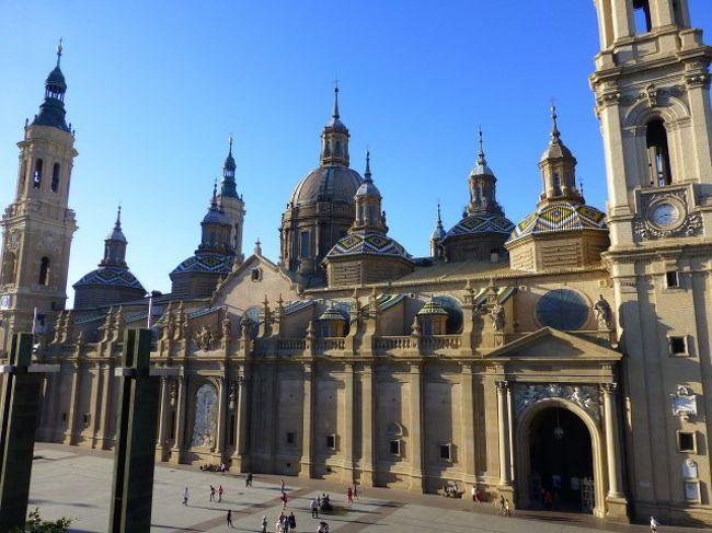 スペイン「サラゴサ」は巨大聖堂...