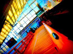 現代の日本橋が...何故か飛行場にあったのよぉ~(羽田空港)