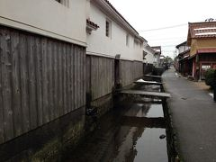 白壁土蔵群がある倉吉の街をぶらぶらする