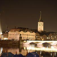 2015.02・冬のクロアチア&スロベニア14日間の旅【1】~まずは夜のチューリッヒ散策~