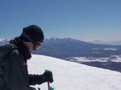 家族でスキーin車山高原スキー場