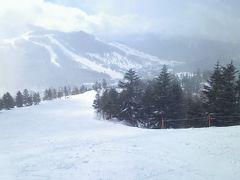志賀高原へスキー1人旅