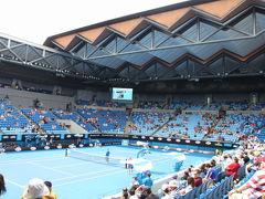 初めてのオーストラリア♪ ふたり旅 2015 (3) Australian Open Tennis