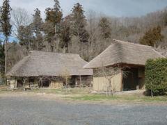 秩父の茅葺の家を訪問