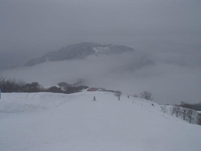 湯村温泉にて体を癒して、その後、ハチ北高原でのスキーを楽しみました。