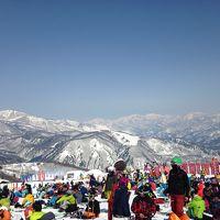 今年も白馬でスキー♪ 3/15は技術選の決勝!見事に晴れてくれました!結果は?