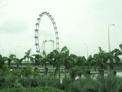 シンガポールの大観覧車
