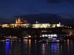 プラハ・クラクフ 3人の旅~ ①出発からプラハの夜景まで