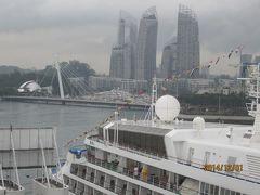 シンガポール入港