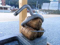 白蛇神社参拝
