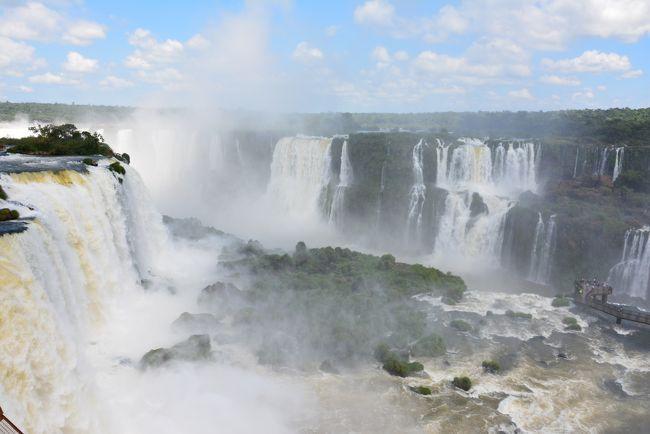 2週間南米旅【5】イグアスの滝(ブラジル側)