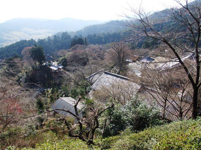 京都の桜は未だ早い時期ですが、西国三十三霊場の巡拝を再開します。京都西山から洛西方面、第20番善峯寺から花の寺として有名な勝持寺、近接の大原野神社を廻り、亀岡の第21番穴太寺をお参りします。<br /><br />表紙は、西国三十三霊場第20番 京都西山 善峯寺の境内全景(奥之院薬師堂から)。