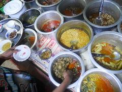 パガンのLocal食堂。ミャンマーカレー初体験