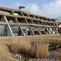 琵琶湖湖畔のデザインホテルに宿泊