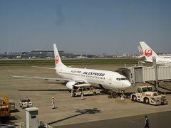 2013年4月 愛媛松山&広島旅行(1) JALで松山へ