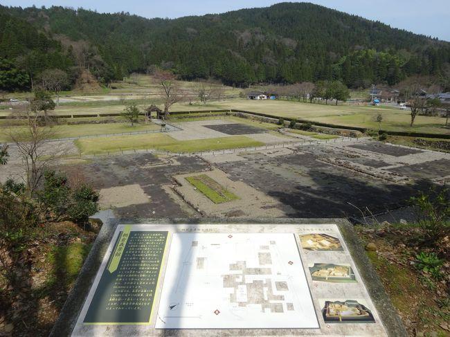 「一乗谷城」は「福井市」にある、かつて「越前国」を支配した「戦国大名」の「朝倉氏館」のある「遺構」です。<br /><br />「一乗谷の南北」に「城戸」を設けて「長さ約1.7km」に「朝倉館(武家屋敷)」をはじめ「侍屋敷」「寺院」「職人や商人の町屋」が「計画的に整備された道路」の両面に立ち並び「日本有数の城下町」を形成していました(ウィキ)。<br /><br />「日本100名城」に選ばれています。