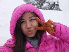 NACKさん、初・日本見聞遊食の旅 4 奥飛騨・新穂高ロープウェイで雪に囲まれる。