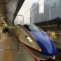 北陸新幹線に乗ってちょこっと群馬旅