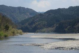 2015春、四国周遊の旅(12):3月30日(4):高知、四万十川クルージング、高瀬沈下橋