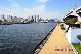 【東京散策21-2】 春の隅田川テラスを歩く 《右岸後編:蔵前橋~千住汐入大橋》