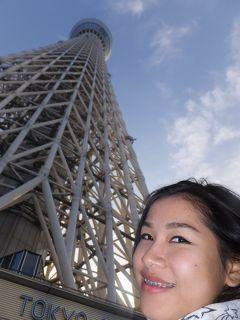 NACKさん、初・日本見聞遊食の旅 12 東京スカイツリーに上る。