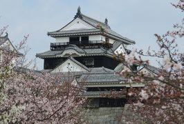 2015春、四国周遊の旅(18):3月31日(2):愛媛、松山城、太鼓門、一ノ門、二ノ門、三ノ門、天神櫓