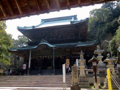 2015春、四国周遊の旅(24):3月31日(8):香川、金刀比羅宮、一茶句碑、本殿、高台からの眺望