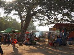バガンの市場の朝の市場