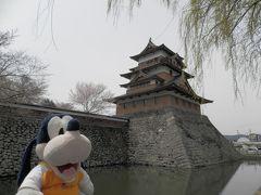 グーちゃん、春の本合宿で白樺湖へ行く!(高島城でお花見!編)