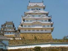 ::新幹線に乗って、のんびり歴史を感ずる老夫婦の修学旅行::