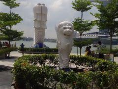 シンガポール一人旅 -マーライオン-
