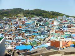 思い立って釜山一人旅! 2日目その1 マウルバスで甘川文化村へ行ってみた