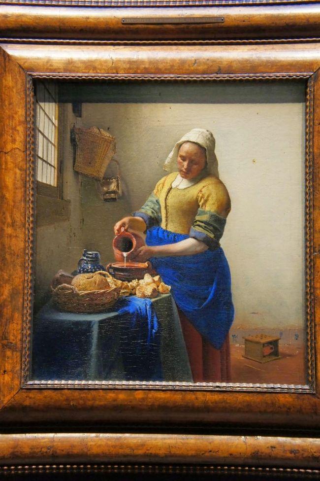 オランダでは美術館をひたすら巡れて幸せでした!<br />ゴッホ、フェルメール三昧♪<br />料理は…でしたが、とにかく芸術を楽しみたい方にはおすすめ!!