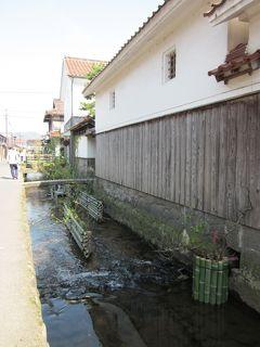 伯耆・倉吉 商家で栄えた玉川が流れる白壁土蔵の町並みをぶらぶら歩き旅-2