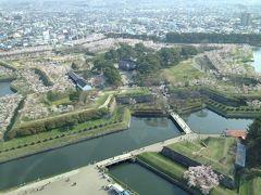 五稜郭の花見と函館山登山そして松前城