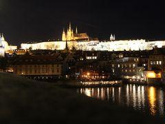 人生初のヨーロッパ②プラハ到着、夜の王の道をカレル橋まで散歩、ビールが安いのも素敵な町♪
