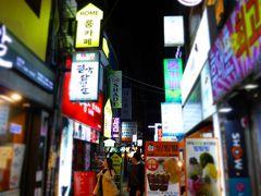 思い立って釜山一人旅! 2日目その3 今宵も南浦洞を散策&釜山タワーに登ってみた