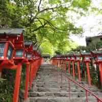 新緑の鞍馬寺と貴船神社