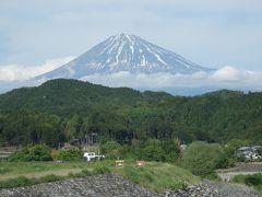 五月晴れの富士山の眺望をもとめて富士川を上る!