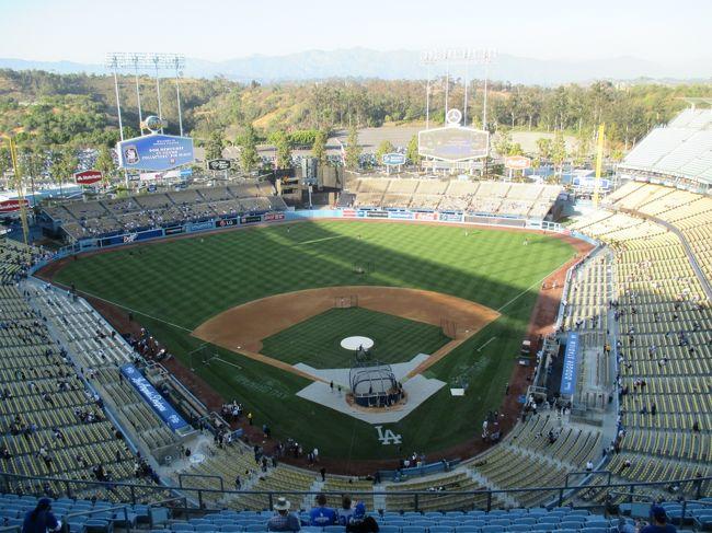 旅行も後半戦です。<br />今日から宿を変え、LAに2泊します。<br />そして、ドジャース戦を2試合観戦です。<br />