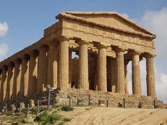 世界遺産エオリエ諸島とシチリア大周遊(17) アグリジェント 世界遺産 神殿の谷