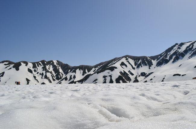 GW雪の大谷・黒部トロッコ・金沢 その1 ~第22回立山雪の大谷ウォーク、絶景!立山から室堂まで~