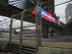 F1シンガポールグランプリ2014(土曜日)
