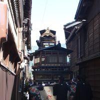 はまってしまった富山への旅。今回は「高岡」・「氷見」・「南砺」・「砺波」を堪能しました。~⑧「城端の曳山祭り」、益々盛り上がります!