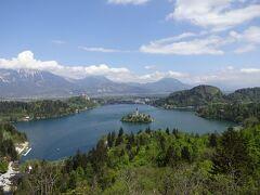 旧ユーゴスラビア5ヶ国周遊GW個人旅行 3(ブレッド湖)